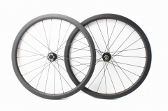 Classic Disc BITEX BX312F BX312R built tubeless wheel set 24H/24H