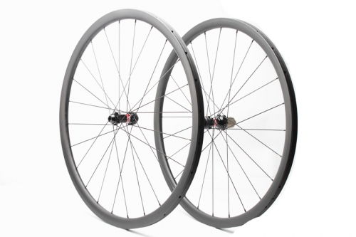 Customized Classic Tubular Road Disc Wheelset