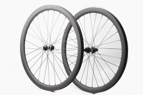 Customized Classic Tubeless Road Disc Wheelset