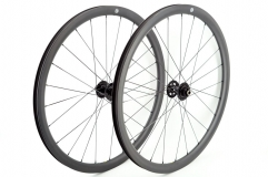 Kaze Disc 26mm(wide) Chris King R45 built tubeless wheel set 24H/24H